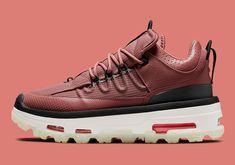 Jordan Air Mae Maroon Sail CT4539-600 | SneakerNews.com Air Max Sneakers, Sneakers Nike, Red Polish, Maroon Dress, Onitsuka Tiger, Jordan 4, Asics, Suede Leather, Nike Air Max