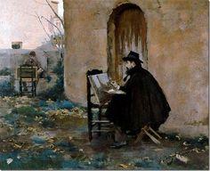 ramon casas i carbo_retrats_1890