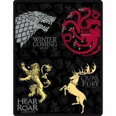 Game of Thrones Fleece Throw Price: $29.99