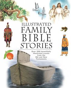 Illustrated Family Bible Stories available at Master Books. Help Bible history come alive for children as well as new believers so they know these true events that changed the world forever. Bible Story Book, Bible Stories, Bible Meaning, Understanding The Bible, Bible College, Family Illustration, Old And New Testament, Learn To Read, Textbook