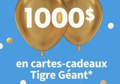 Concours: Remportez 12 cartes cadeaux Tigre Géant 1 Publication Facebook, Coutume, Barbecue, Pageants, Barrel Smoker, Bbq, Barbacoa