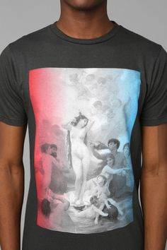 FUN Artists Birth Of Venus Tee  OMGDOWANT
