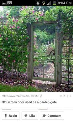 Like the lattice fence