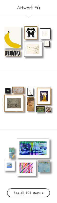 """""""Artwork #6"""" by sally-simpson ❤ liked on Polyvore featuring home, home decor, wall art, home wall decor, mounted wall art, interior wall decor, art, decor, framed art and quadro"""