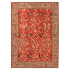 Found it at Joss & Main - June Rug in Gold Brown