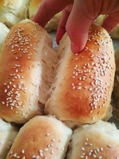 Cookbook Recipes, Diet Recipes, Cooking Recipes, Food Network Recipes, Food Processor Recipes, The Kitchen Food Network, Cooking Cake, Bread And Pastries, Dinner Rolls