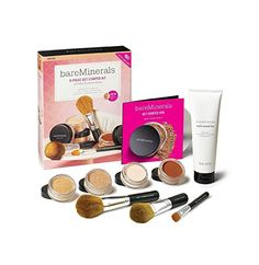BareMinerals 9 Piece Get Started Kit  LIGHT 174 Value * To view further, visit now : Makeup Set