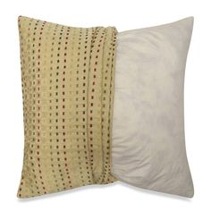product image for Make-Your-Own-Pillow Dashes Square Throw Pillow Cover $14.99 hypoallergenic WINTER?
