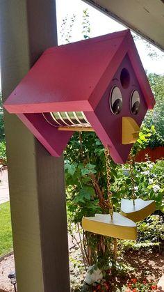 Birdhouse Wren Birdhouse Coffee Can Birdhouse