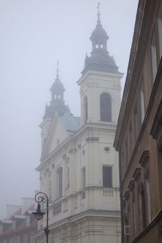 October mist in Old Town Warszawa Central Europe, My Heritage, Warsaw, Old Town, Stuff To Do, October, Polish, Magic, Spaces