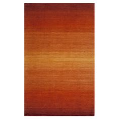 Found it at AllModern - Metro Paprika Rug // a pop of color