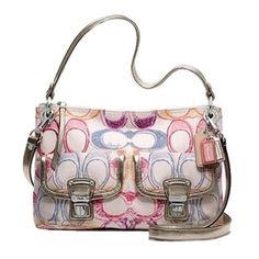 NWOT Coach Limited Edition Dream Hippie Crossbody Bag Purse - MSRP $198 - J110