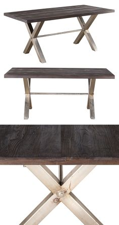 Other Antique Furniture Honest Vintage Indian Teak Plank Dining Table The Latest Fashion Antiques