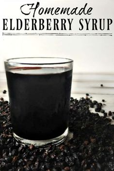 This Homemade Elderberry Syrup is great for warding off colds and flu but it's also helpful for promoting health if you do get sick! Make your own elderberry syrup and save over $15 per batch! #elderberry #elderberrysyrup #flu #naturalremedies #howtomake #fluseason #herbalremedies #diy #natural #simple Flu Remedies, Holistic Remedies, Natural Home Remedies, Herbal Remedies, Health Remedies, Holistic Healing, Natural Medicine, Herbal Medicine, Elderberry Syrup