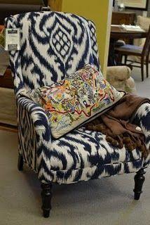 Ordinaire Fabulous Ikat Chair.
