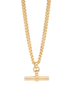 We are literally crushing so hard on this necklace right now. It is super cool and totally sums up our brand aesthetic. The solid sterling silver, gold plat St Christopher Necklace, Chunky Jewelry, Bar Earrings, Star Necklace, Silver Stars, Eternity Ring, Sterling Silver Chains, Gold, Link