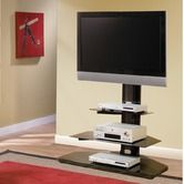 Found it at Wayfair - Stealth Flat Panel TV Stand with Mount