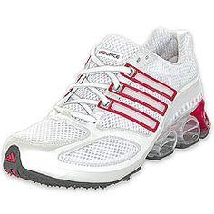 adidas Women's Megabounce white hot pink