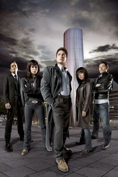 Torchwood origional cast. Now the tricky part, which of my four favorite characters is still alive?