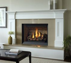 vented fire place manufacturers | Kastle Fireplace Gas Fireplaces: Bellavista B36XTCE