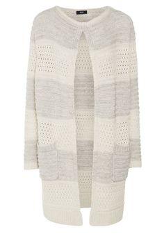 Clothing at Tesco | F&F Striped Chunky Knit Coatigan > knitwear > Women's Knitwear > Women