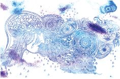 Brain Waves by SarahFranO on Etsy