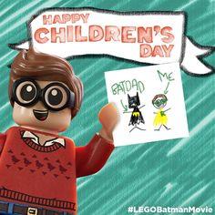 Every kid is a super hero to Robin! Happy Children's Day! #LEGOBatmanMovie #LEGO #DCComics #SuperHeroes #EverythingIsAwesome