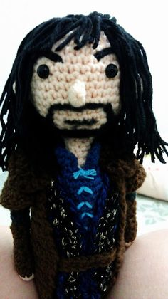 CROCHET - HOBBIT - LORD OF THE RINGS - LOTR - Crochet Fangirl : The Hobbit - Kili Amigurumi