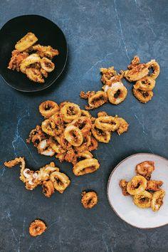Spice salted squid   PERSIANA   Nigella's Latest   Nigella Lawson