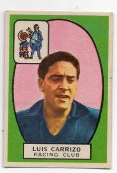 Luis Carrizo - Racing Club - 1966
