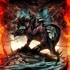 The Cerberus, the three-headed monster hound that guards the gate to Hades and the final labor of the 12 tasked by the Titan gods to Hercules to kill. Also Percy Jackson had to face this guy. Mythical Creatures List, Magical Creatures, Greek Creatures, Greek And Roman Mythology, Greek Gods, Greek Monsters, Sea Monsters, Greek Mythological Creatures, Deviantart Fantasy