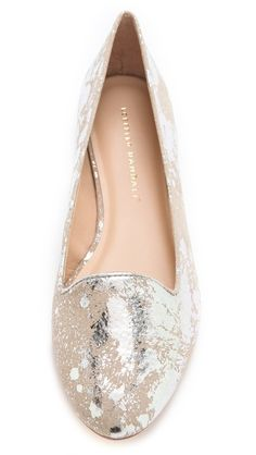 Sparkle metallic flats? Yes, please!