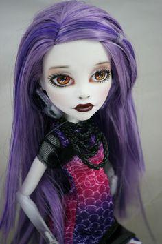 Monster High Ooak Custom Spectra Repaint by Brandiwine | eBay