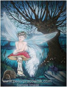 Willow, Fairy Oracle Print