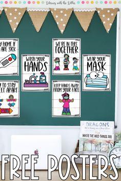 Classroom Signs, Classroom Posters, Kindergarten Classroom, Future Classroom, Classroom Decor, Classroom Activities, Beginning Of The School Year, Back To School, Middle School