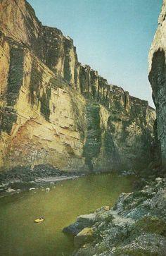 Santa Elena Canyon, Texas National Geographic | February 1961