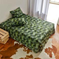 Capa de Edredom estampada. Para dar mais vida ao seu quarto e animar a sua cama. http://www.atricasa.com.br/pd-1529ed-conjunto-capa-de-edredom-queen-jungle.html?ct=5c951&p=1&s=1