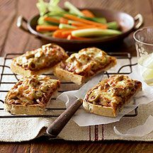 Chicken sweet potato and cottage cheese pizza