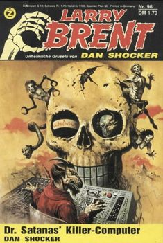 Larry Brent is the creation of Jürgen Grasmück (aka Dan Shocker) and first appeared in a sci-fi fanzine called Andromeda. By 1968 he had moved to the mainstream media and by 1981 had his own publication.pic.twitter.com/CboJapu3vl