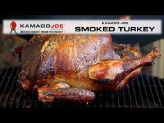 Brine Recipe, Joe Recipe, Recipe For 4, Kamado Grill, Kamado Joe, Dry Rub Recipes, Ceramic Grill, Smoked Turkey, Turkey Video