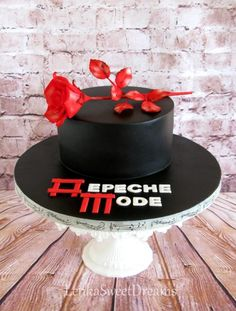 Depeche mode cake. by LenkaSweetDreams