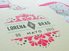 Este recorrido para una #boda temática mexicana comienza en las #invitaciones de la boda. Les mostraremos varios modelos de invitaciones que ayudan a ir aclimatando a los invitados a esta temática tan entretenida como bonita. - http://bodasnovias.com/como-organizar-una-boda-estilo-mexicano/3348/#