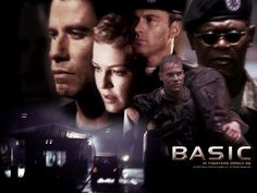 Watch Streaming HD Basic, starring John Travolta, Samuel L. Jackson, Connie Nielsen, Tim Daly. A DEA agent investigates the disappearance of a legendary Army ranger drill sergeant and several of his cadets during a training exercise gone severely awry. #Action #Mystery #Thriller http://play.theatrr.com/play.php?movie=0264395