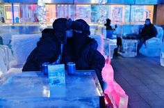 The Dubai Ice Cafe