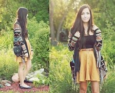 Billabong aztec print shawl. Found this sweater in a tiny lil shop on Grand :)
