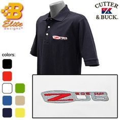 Z06 Corvette Embroidered Mens Cutter & Buck Ace « Impulse Clothes