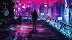 Cyberpunk 2077 is an upcoming action role-playing video game developed and published by CD Project. It is scheduled to be released for Microsoft Windows, PlayStation 4, PlayStation 5, Stadia, Xbox One, and Xbox Series X/S on 19 November 2020. Cyberpunk 2077, Cyberpunk City, Futuristic City, Cyberpunk Aesthetic, Neon Wallpaper, Computer Wallpaper, Sci Fi City, Desktop Background Images, Film Background
