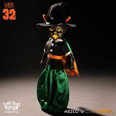 Living Dead Dolls - Series 32 - Black Cat Witch.   Teen2TwilightToys