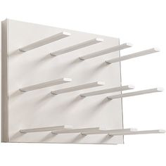 Stact Wine Rack - White/Silver