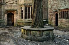 Courtyard at Skipton Castle, North Yorkshire, England, 1090 [Castles]  via Blue Pueblo  Affiliate LinkThe Wars of the Roses